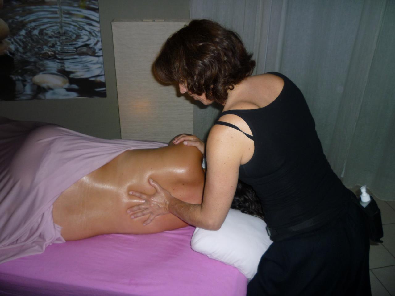 Massage dos Femme enceinte